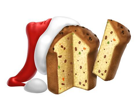 Insetos ceia de Natal